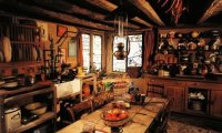 Studying in Mrs. Weasley's Kitchen