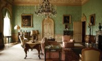 Drawing Room of Downton Abbey, Summer day