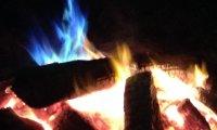 A bonfire on Midsummer's Night
