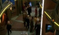 Hang out and people-watch on the promenade on DS9!