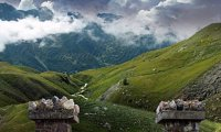 Scottish highlands Storm