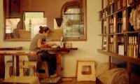 cafe studying