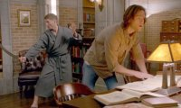 Researching with Sam and Dean Winchester