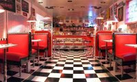 A Diner in the 1950's