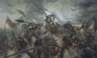 A large scale battle