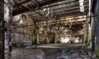 Creepy abandoned industrial noises
