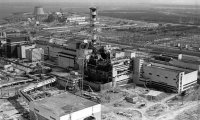 Chernobyl after explosion