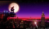 Spiderman Overlooks the City