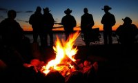 Cowboy Bonfire