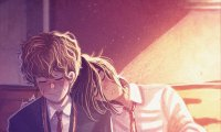 It is evening time at Hogwarts . . .