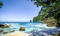 Calm Beach in Summer