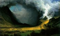 The dark storm surrounds you. But you are SAFE inside the carriage of a steam train. Aren't you?