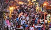 Enjoy a stroll through a crowded marketplace