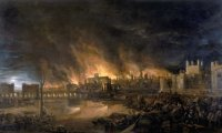 Medieval town siege