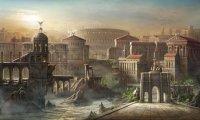 An Egyptian Palace at Dusk