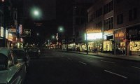 Street Corner at Night in any city