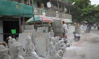 Mandalay's Stone Carver Street
