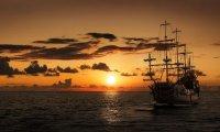 Sailing calm seas