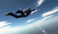 Skydiving from the Sky
