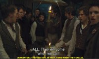 Planning the revolution (Les Miserables)
