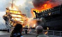 The Dock Burns