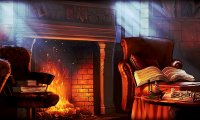 Gryffindor Commonroom at night