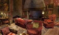 Winter in the Gryffindor Common Room