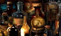 Potions class at Hogwarts