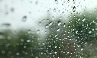 Stormy train journey