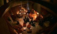 Studying in the Gryffindor Common Room