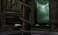 Slytherin Dorms During A Late Night Storm
