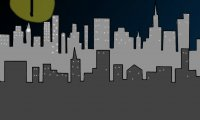 A superhero's town
