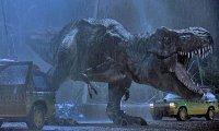 Jurassic Park is frightening in the dark.