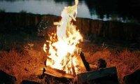 Lakeside Bonfire