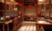 Gusteau's kitchen