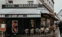 cafe in Paris soundscape