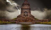 Thunderstorm Monks