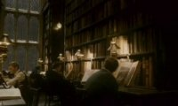 Afternoon in Hogwarts' Library