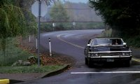 In the Impala...