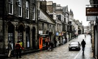 Walking Home in Aberdeen