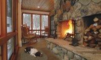 Fireside in a Winter Storm