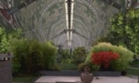 A Japanese Garden Aboard the Takashi-Yamamoto Spindle
