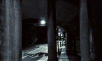 Evening walk around a quiet neighborhood