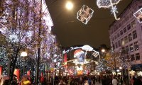 Christmas Shopping - Night