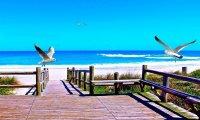 Strand, zee West Europa