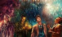 TARDIS in the Rain