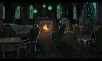 Busy day at the Slytherin common room