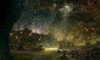 Creeping Through a Watery Cave of Goblinoids