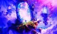 Whimsical journey into a mystical realm