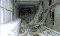 Eingestürtzter Tunnel